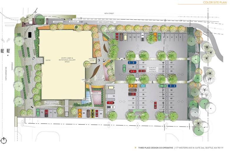 Redmond site plan