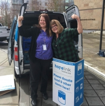 City of Redmond in the Final Four of Hopelink Can Madness