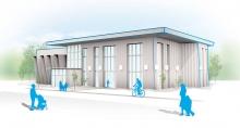 Rendering of Hopelink's New Redmond Integrated Service Center